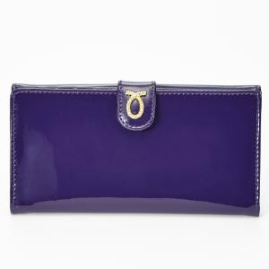 財布 18cm Purple | Rope Logo Purse パープル エナメル