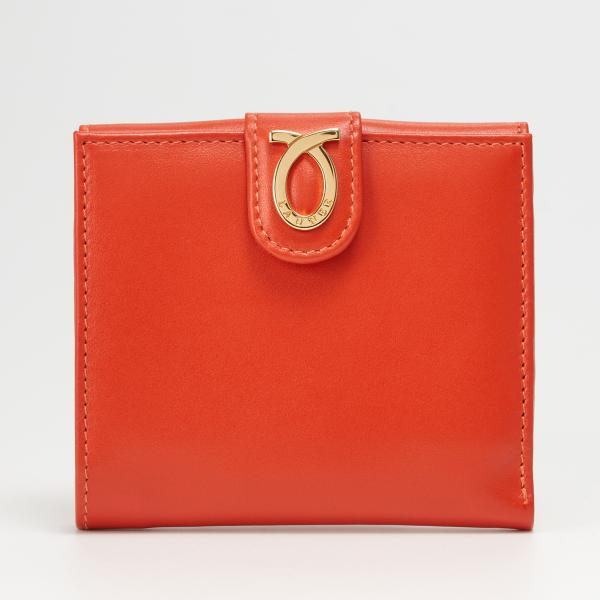 財布 11cm Orange Beige | New Logo Purse オレンジ ベージュ