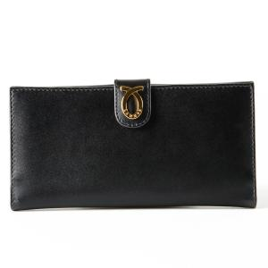 財布 18cm Black Beige | New Logo Purse ブラックベージュ