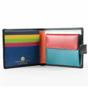 財布 11cm Black Multi | Tab Wallet ブラックマルチ