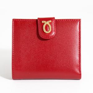 財布 11cm Red | Rope Logo Purse レッド