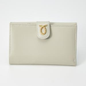 財布 14cm Beige | Medium Rope Logo Purse ベージュ