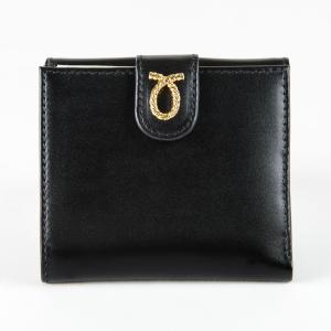 財布 11cm Black | Rope Logo Purse ブラック