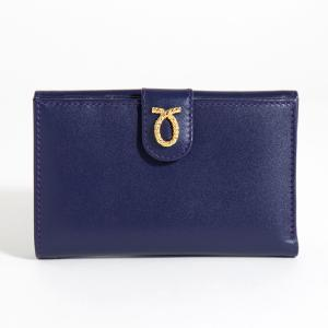 財布 14cm Purple | Medium Rope Logo Purse パープル