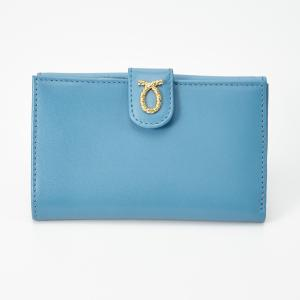 財布 14cm Baby Blue | Medium Rope Logo Purse ベイビーブルー